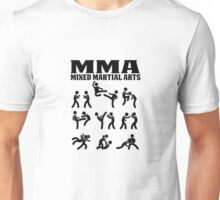 MMA Mixed Martial Arts Unisex T-Shirt