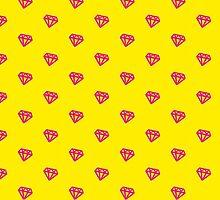 Pink Kitsch Diamond by XOOXOO
