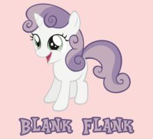 Sweetie Belle Blank Flank by Coffey