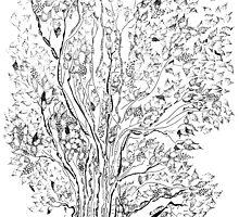 Evolutionary Tree  by Regina Valluzzi
