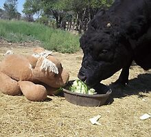 Snack Time for Jobie and Pony by JobieMom