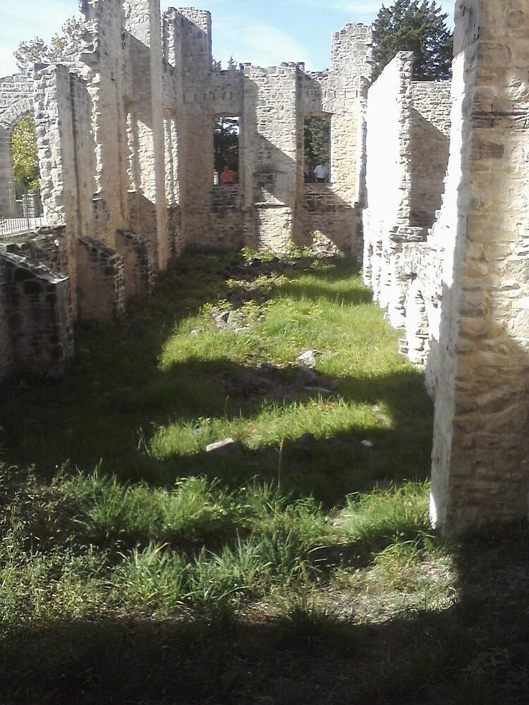 Inside Ha Ha Tonka Castle in Missouri Ozarks by aweddingtheme