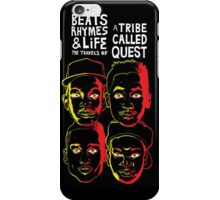 ATCQ BEATS RHYMES AND LIFE A TRIBE CALLED QUEST  iPhone Case/Skin