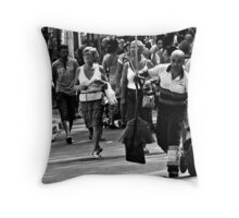 Some one has to be first... Throw Pillow
