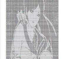 Ascii Art Anime by ElizaBee