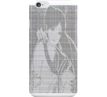Ascii Art Anime iPhone Case/Skin
