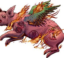 Porky Panic by JeremyKiraly