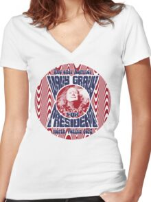The Only Romney Worth Voting For! Women's Fitted V-Neck T-Shirt