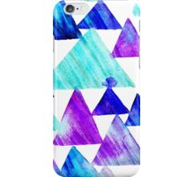 Watercolor Triangles iPhone Case/Skin