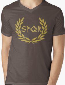 SPQR Mens V-Neck T-Shirt