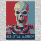 Skeletal Warrior by digihill