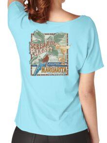 screaming parrot beach bar Women's Relaxed Fit T-Shirt