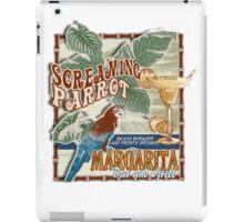 screaming parrot beach bar iPad Case/Skin