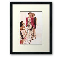 Rachael Zoe showcases new her '2012 Fall Designs'  Framed Print