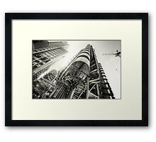 Silk & Steel 3.0 BW Framed Print
