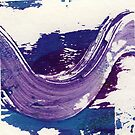 Purple Swirl2 by Sandy  Coleman