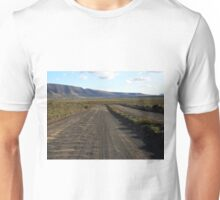 The road is uncertain / Road to no where Unisex T-Shirt