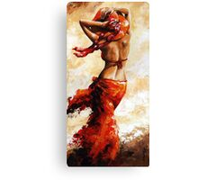 Hot breeze Canvas Print