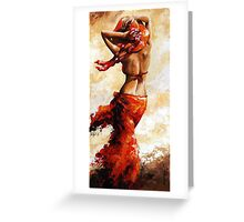 Hot breeze Greeting Card