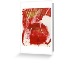 Christmas Red Greeting Card
