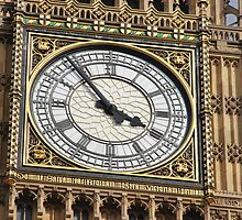 THE GREAT CLOCK OF WESTMINSTER by Jack Catford
