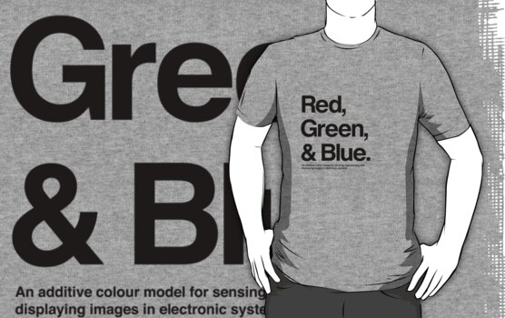 Red, Green & Blue (Black) by hami