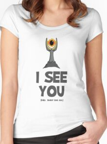 Cute Sauron Women's Fitted Scoop T-Shirt