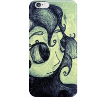 Portrait in the wind iPhone Case/Skin