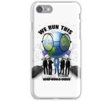 Nerd World Order. The New N.W.O. iPhone Case/Skin