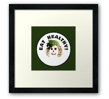 I love vegetables Framed Print