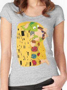 Klimt muppets Women's Fitted Scoop T-Shirt