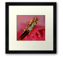 Bling bling Framed Print