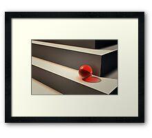 On Edge Framed Print