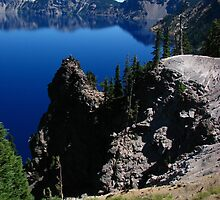 Discovery Point, Crater Lake, OR 2012 by J.D. Grubb