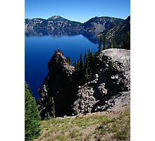 Discovery Point, Crater Lake, OR 2012 Photographic Print