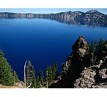 Crater Lake from Discovery Point, OR 2012 Photographic Print