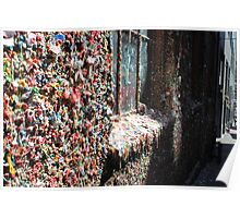 The Market Theater Gum Wall.... Poster