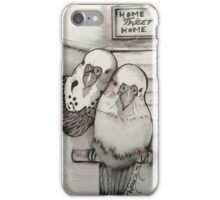 Home-tweet-home iPhone Case/Skin
