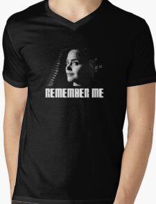 Doctor Who - OSWIN - Remember Me Mens V-Neck T-Shirt