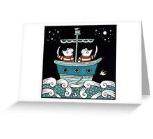 Marauding Mice Greeting Card