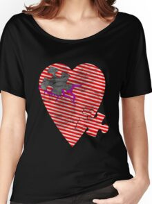 saw heart Women's Relaxed Fit T-Shirt