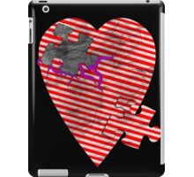 saw heart iPad Case/Skin