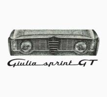 Alfa Romeo Giulia Sprint GT Kids Clothes