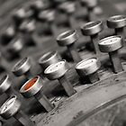 Vintage Cash Register Buttons by KellyHeaton