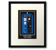 Look Inside the TARDIS Framed Print