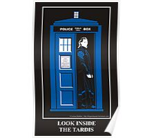 Look Inside the TARDIS Poster