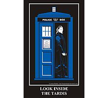 Look Inside the TARDIS Photographic Print