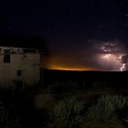 Storm Clouds at Guadalupe Ghost Town by TheBlindHog