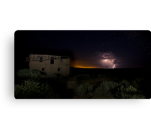 Storm Clouds at Guadalupe Ghost Town Canvas Print