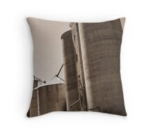 Elmore Silos Throw Pillow